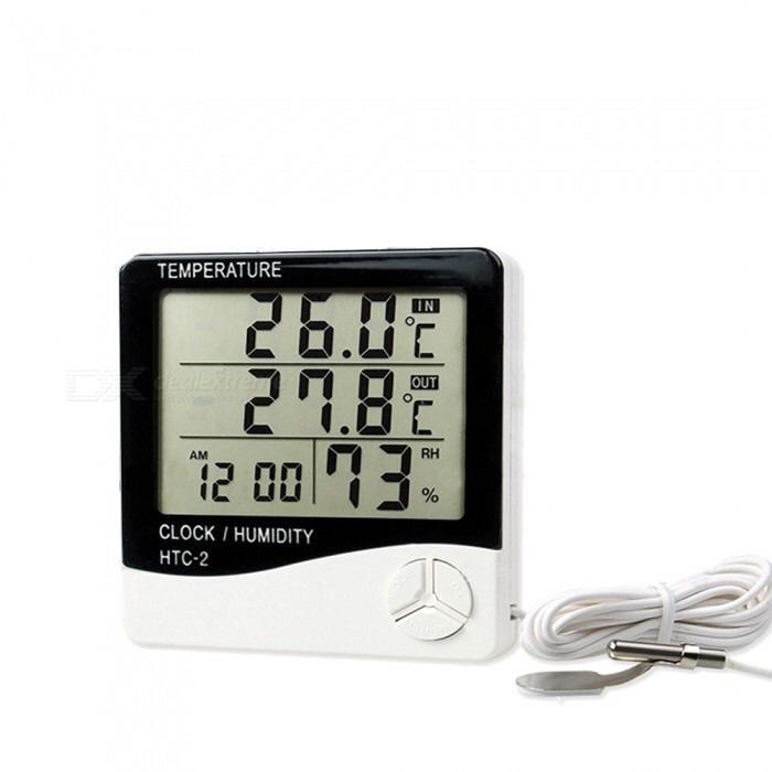 Termómetro Higrómetro Con Sonda Temperatura Humedad