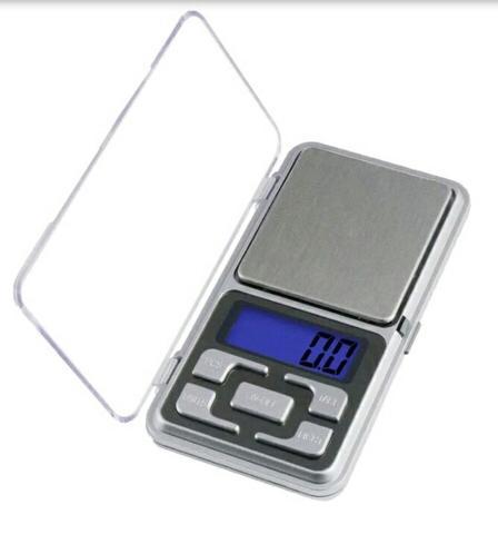 Balanza Precisión Digital De 0.1 Gramo A 500grs Portable