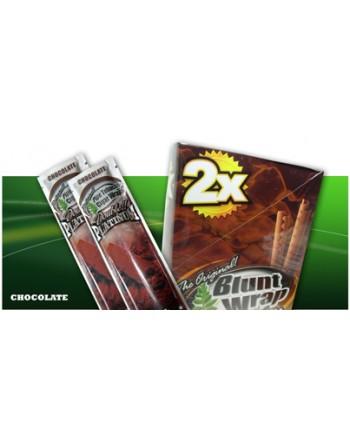 BLUNT WRAP X2 CHOCOLATE