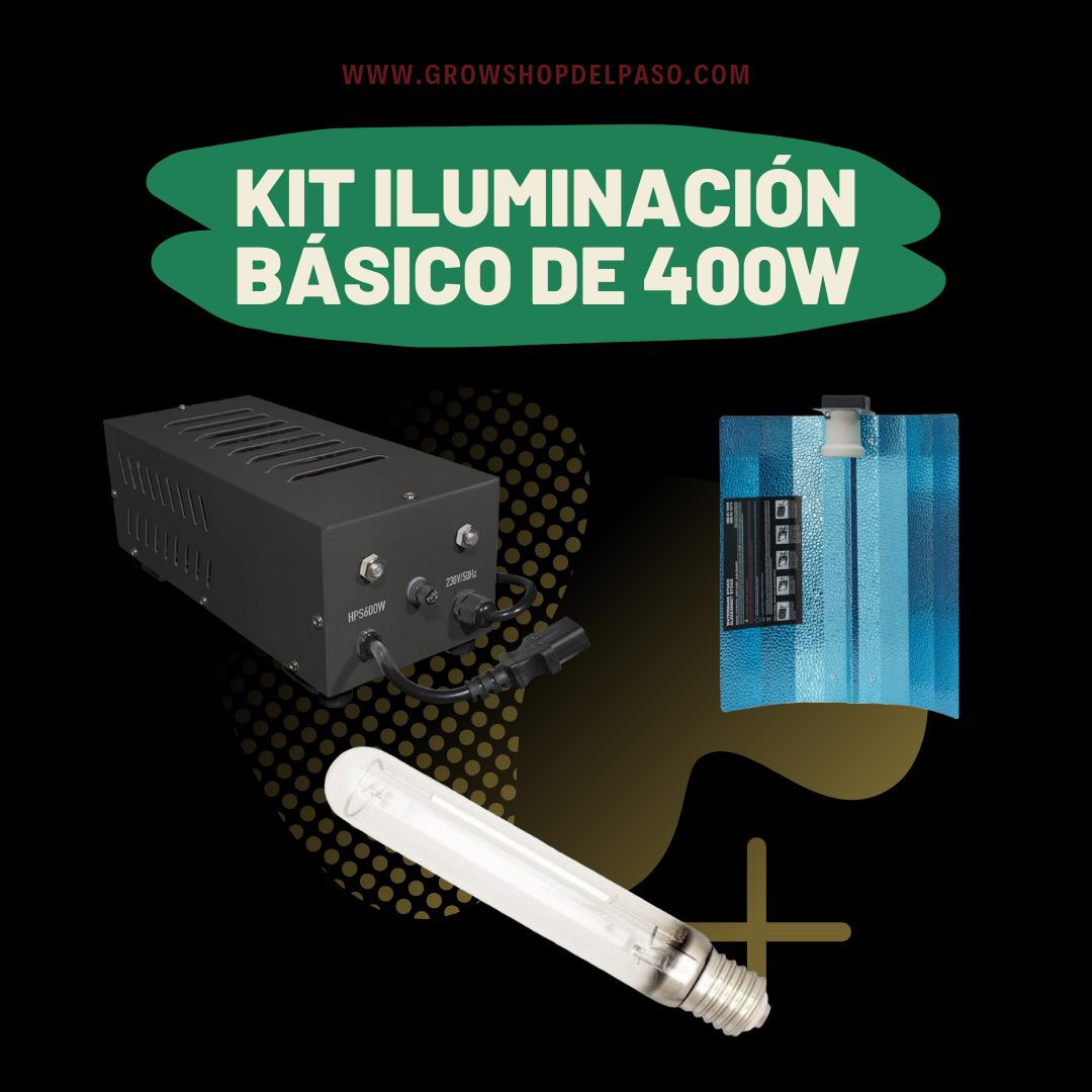 Kit Iluminación Básico 400W