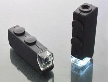 Microscopio 60x-100x De Bolsillo Con Estuche