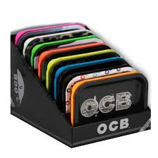 OCB Premium Metal Bandeja OCB con tapa hermética (19x14cm)